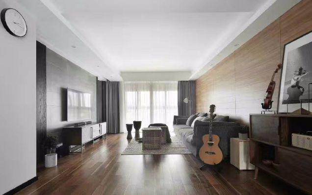 精雕细刻现代灰色沙发装饰图片