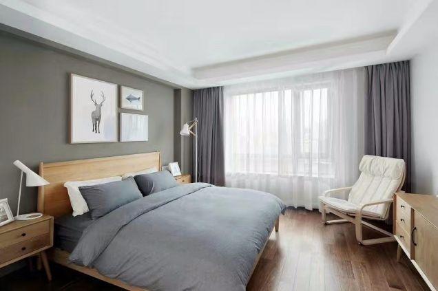 2019现代卧室装修设计图片 2019现代窗帘装修图
