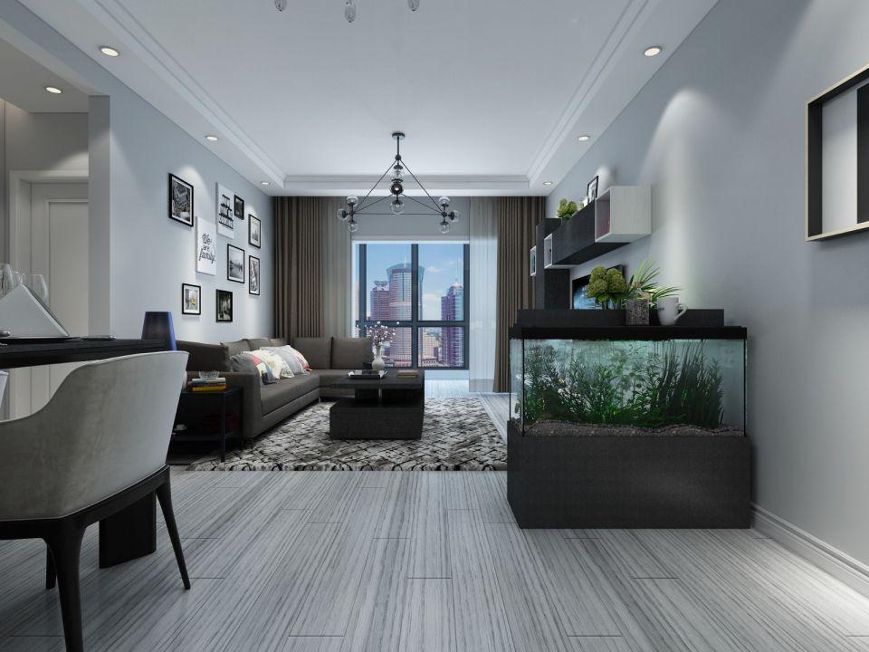 客厅沙发现代简约家装设计图