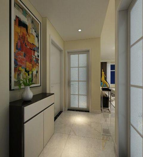 唯美白色玄关装修设计图片