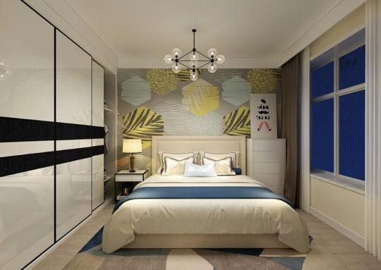 卧室衣柜现代简约U乐国际装饰设计图片