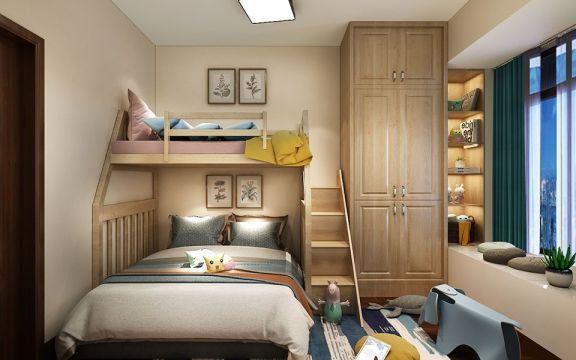 卧室衣柜新中式设计图