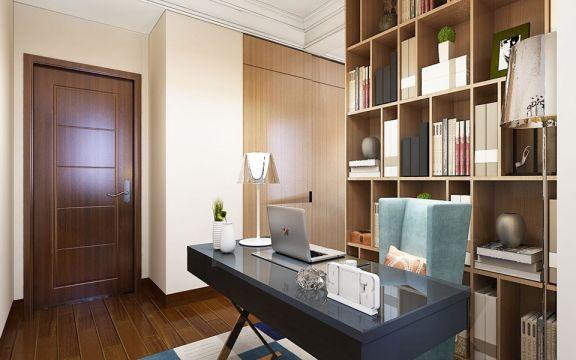 书房书桌现代U乐国际u乐娱乐平台设计图片
