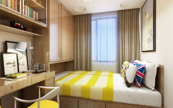 奢华大气卧室现代家装设计图