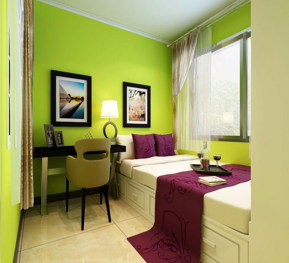 精雕细刻卧室现代装饰实景图片