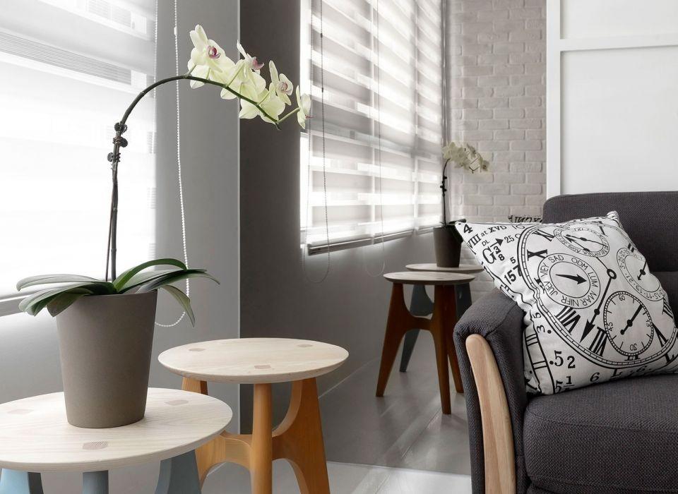 奢华大气灰色客厅室内装饰