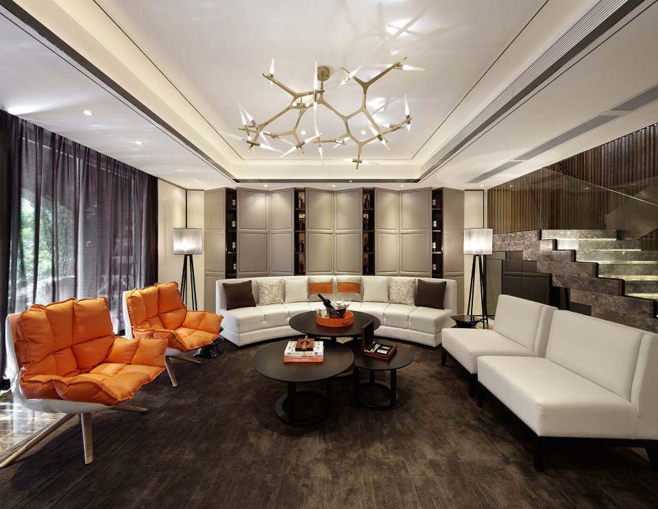 客厅沙发现代装修设计图片