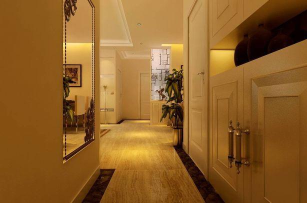 淡雅玄关走廊设计方案