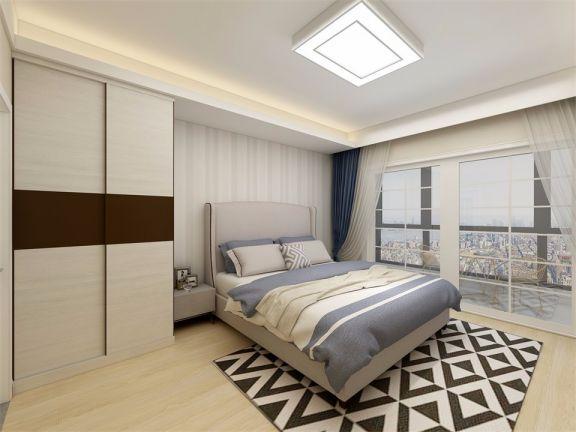 美轮美奂卧室背景墙装修效果图
