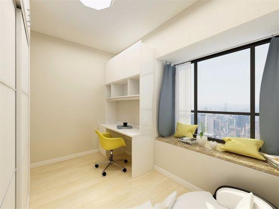 书房黄色窗台案例图片