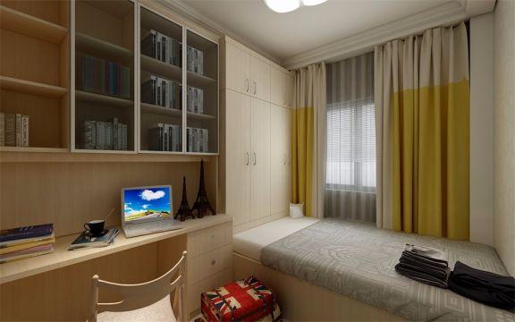 自然卧室装修美图