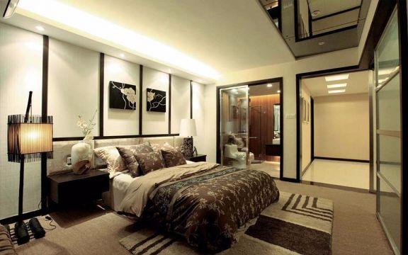 最新卧室背景墙装饰设计图片