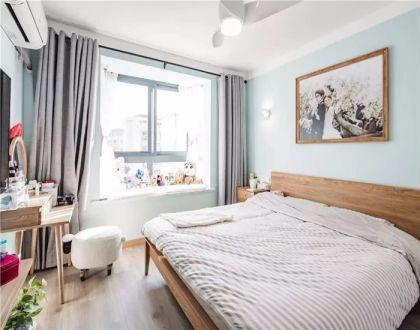2019混搭卧室装修设计图片 2019混搭窗帘装修效果图片