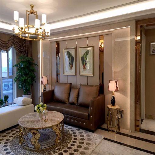 2018美式客厅装修设计 2018美式沙发装修设计