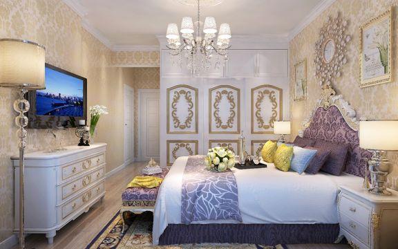 美轮美奂床室内效果图