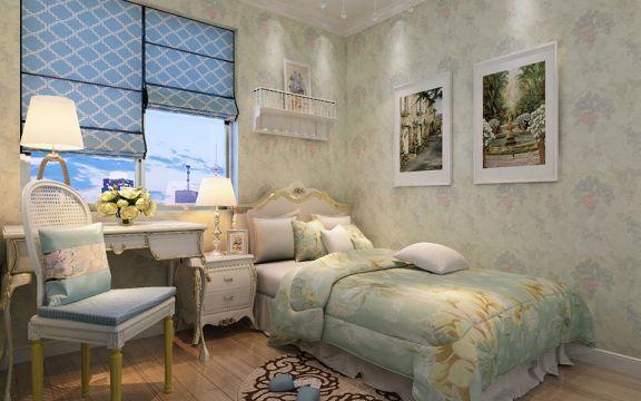 大气米色床装饰设计图片