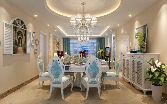 美感餐厅欧式室内装饰