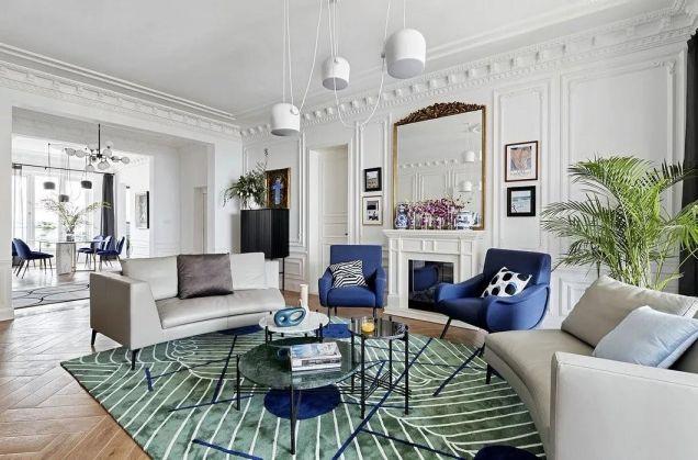 150平法式风格四室两厅装修效果图