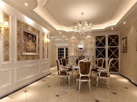 真实餐厅欧式风格地板装修案例图片