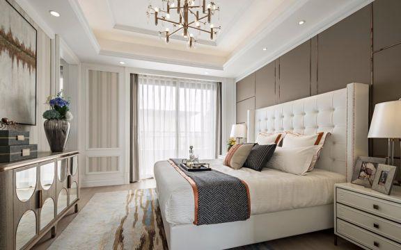 89平方三居室美式风格装修效果图