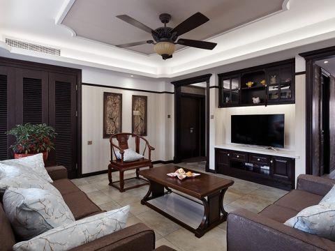 91平美式风格两居室装修效果图