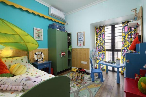 摩登儿童房田园设计