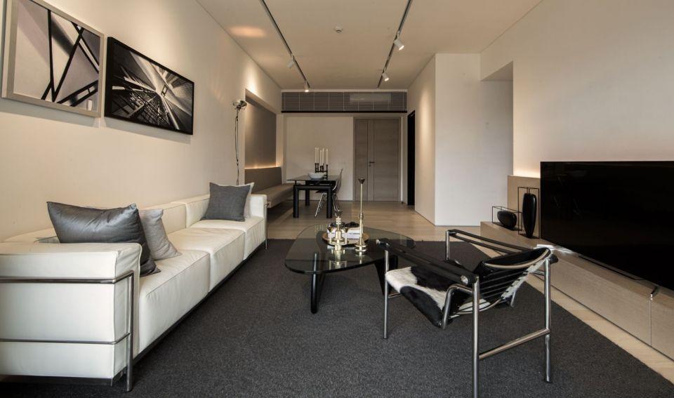 清新素丽客厅简约装修案例