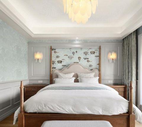 温馨卧室简欧装潢效果图