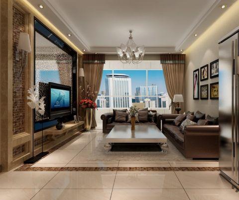 103平现代简约风格两居室装修效果图