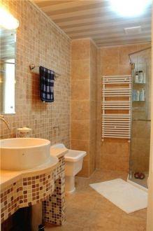 中式卫生间背景墙装修设计