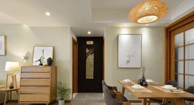 设计优雅餐厅新中式装饰实景图片