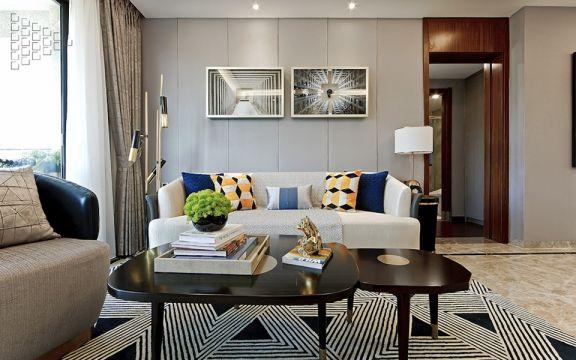 简约客厅沙发装饰设计图片