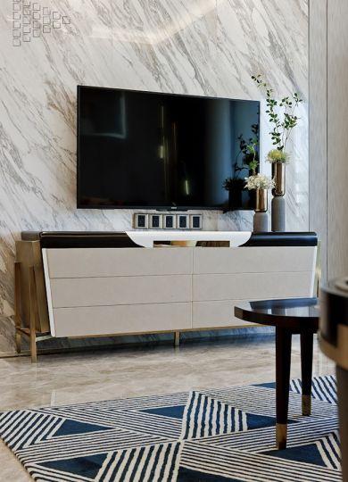 2019欧式110平米u乐娱乐平台设计 2019欧式三居室u乐娱乐平台设计图片
