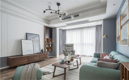 135平欧式风格别墅装修效果图