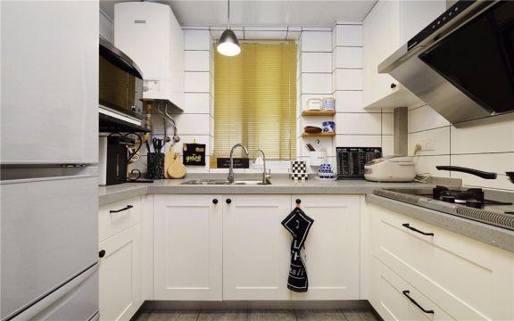 低调优雅厨房北欧室内装饰