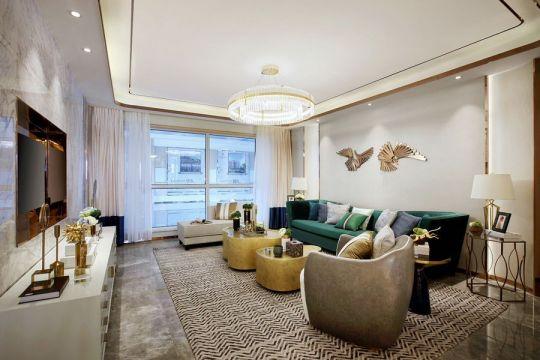 纯净客厅现代装潢设计图片