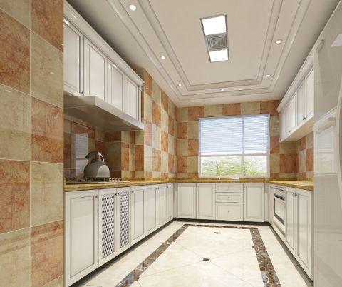厨房米色橱柜案例图片