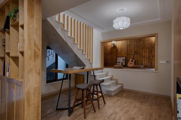 现代书房楼梯案例图片