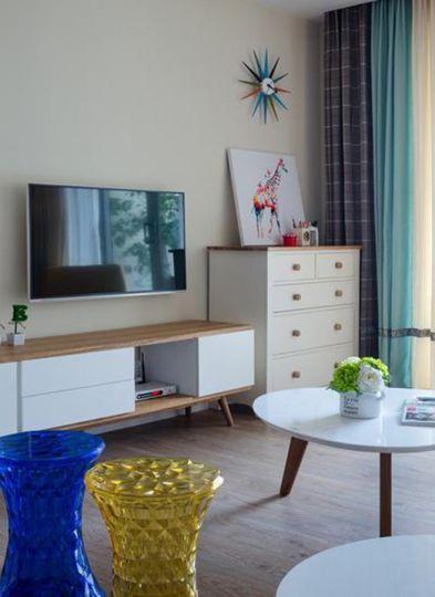 简约客厅电视柜设计