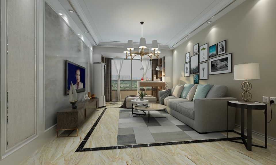 质朴客厅设计图片