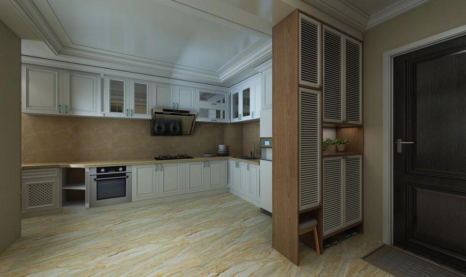 独具一格白色厨房设计方案