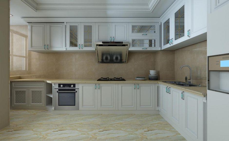 时尚厨房橱柜设计图