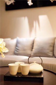 清新客厅简约装饰图