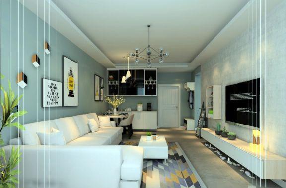 客厅背景墙北欧室内u乐娱乐平台设计