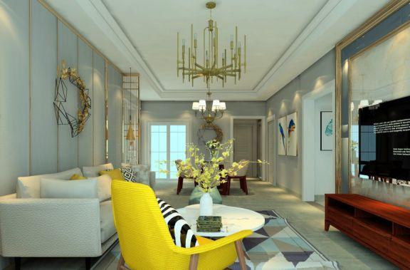 优雅客厅背景墙设计图片