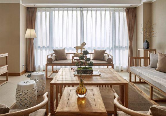 精致米色客厅设计图欣赏