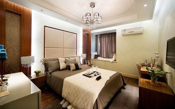 卧室白色吊顶装修方案
