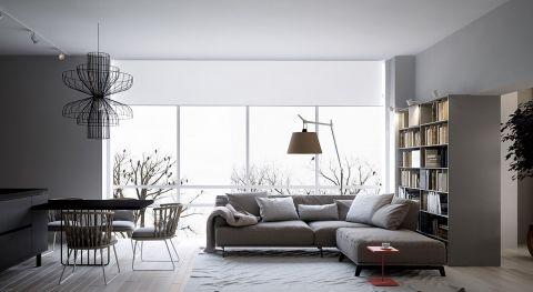 96平北欧风格三居室装修效果图