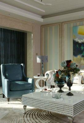 客厅大理石茶几欧式图片