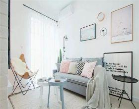 44平北欧风格两居室装修效果图